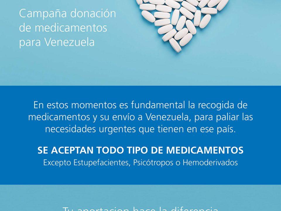 poster donación medicamentos centrado